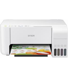 Epson L3156 printer-skänner-koopiamasin, valge