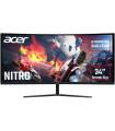 """Acer 34"""" nõgus EI342CKRPBMIIPPX, 144 Hz"""